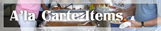 Food Caterers Commerce Township MI - Catering By Kevin - menu_alcarte