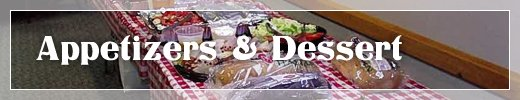Food Caterers Commerce Township MI - Catering By Kevin - menu_ldessert