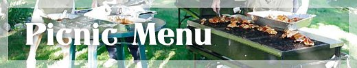 Food Caterers Commerce Township MI - Catering By Kevin - menu_picnic